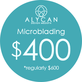 Microblading $400 *regularly $600