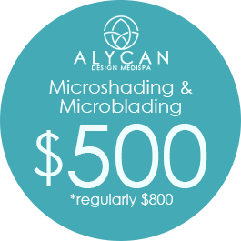 Microshading And Microblading $500  *Regularly $800