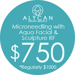 Microneedling With Aqua Facial & Sculpture RF $750, Regulary $1000
